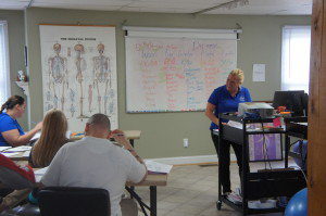 classes for massage therapy
