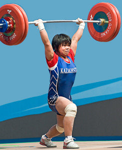 Weightlifters can benefit from therapeutic massage.
